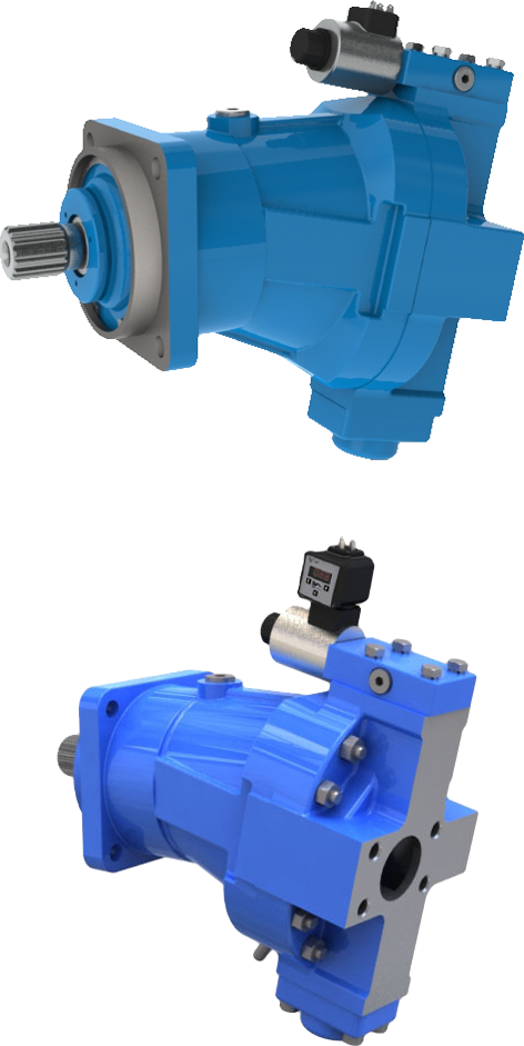 Variable pumps for open circuit